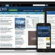 Barrons News Digital Subsc ription 5-year iOS/Android/PC - Anywhere