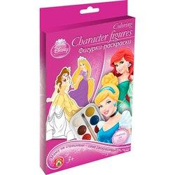 Set for children's creativity Disney Princess Action Figures-coloring