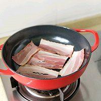 #太太乐鲜鸡汁芝麻香油#大虾培根粉丝煲的做法图解1