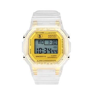 SHIYUNME LED Digital Display Sports Couple Electronic Watch Weekly Calendar Multi-Function Watches For Men Women часы мужские