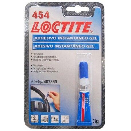 ADHESIVE INSTANT GEL 3 GR Loctite 454 Loctite