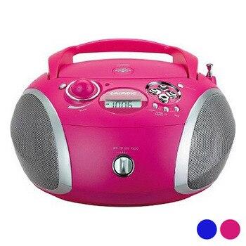 Radio CD MP3 Grundig GDP6310 CD R/CD RW FM USB 3W