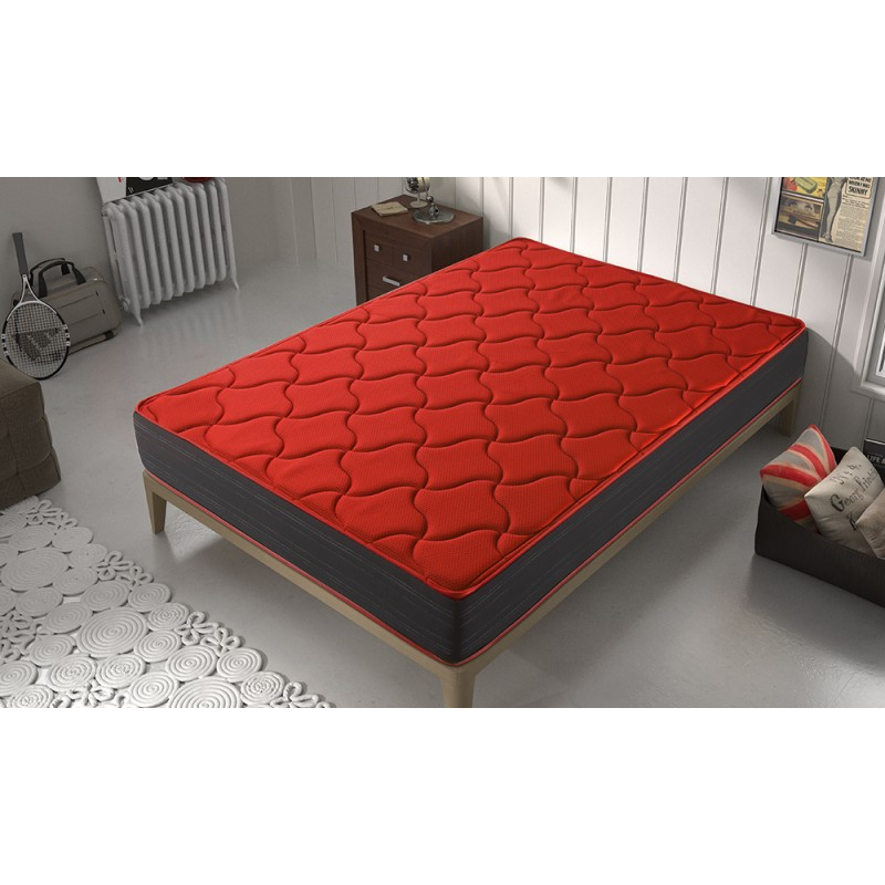 Matris-Mattress Viscoelásico Oxygen Plus Height 21cm +/-2 Firmness Half Mattresses Visco All Appropriate
