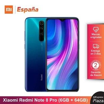 Xiaomi Redmi Note 8 Pro (64GB ROM, 6GB RAM, Cámara de 64MP, Android, Nuevo y Libre) [Teléfono Movil Versión Global para España] note8pro