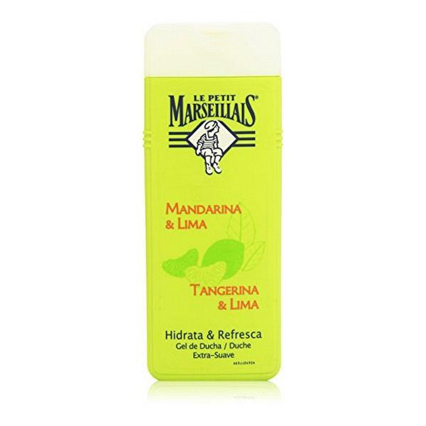 Shower Gel Tangerina & Lima Le Petit Marseillais (400 Ml)