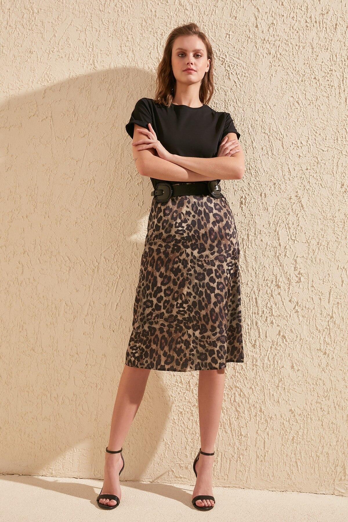 Trendyol Patterned Skirt TWOSS20ET0107