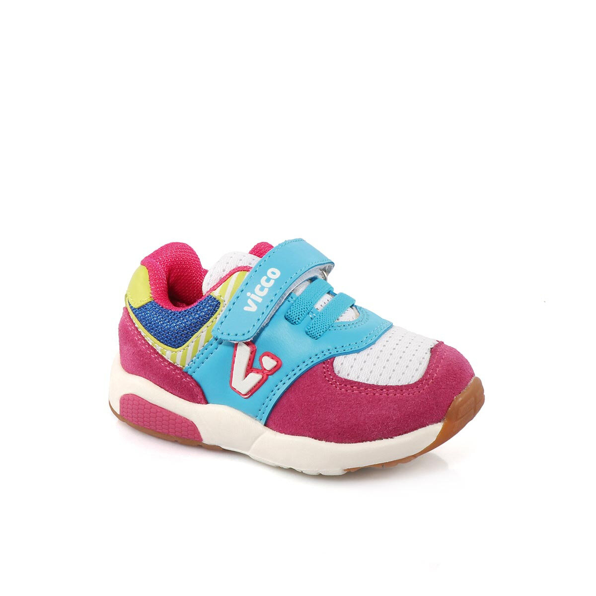 FLO 346.18Y.151 BEBE SPORT White Female Child Sneaker Shoes VICCO