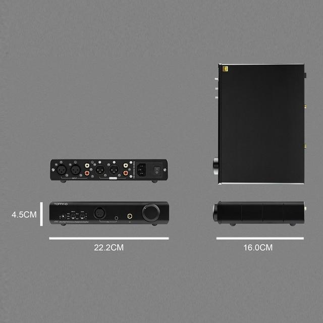 TOPPING A90 Full Balanced Headphone Amplifier 5