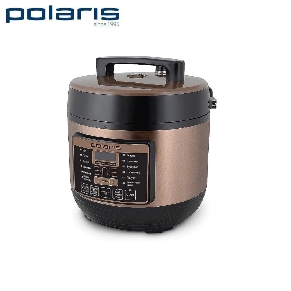 все цены на Multivarka Polaris PPC 1005AD Multivarki Pressure Cooker Electric casserole Household appliances for kitchen Multi Cookers онлайн