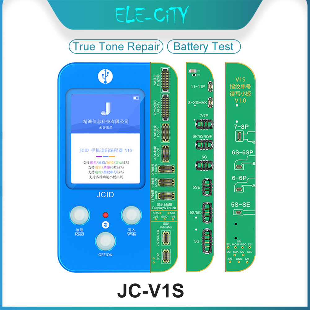 New JC-V1S LCD OLED Incell Touch Screen True Tone Repairing Chip Programmer for iPhone 8 8Plus X XR XS Max 11 11Pro 11Pro Max(China)