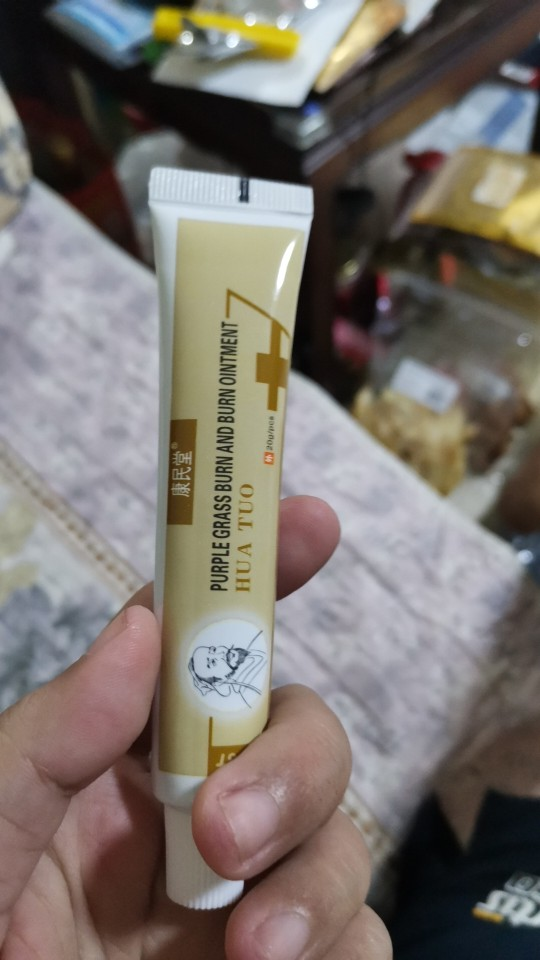 1pcs Hua Tuo Anti-infection Cream Antibacterial Burn Wound Care Ointment Burn Better Faster Inhibit Herbal Medical Plaster S010 reviews №2 123685