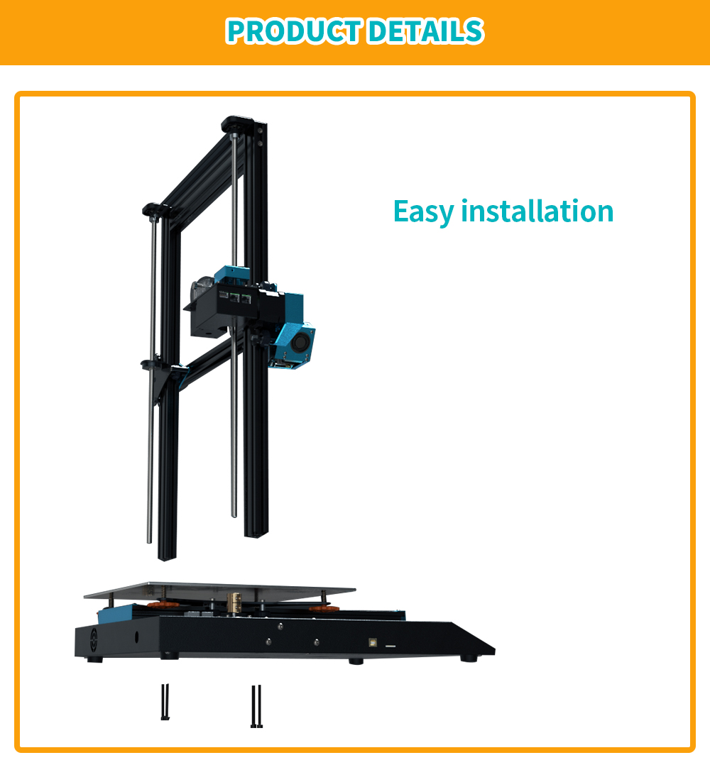 TWO TREES BLUER PLUS I3 Mega Metal 3D Printer WIth Touch Screen 10