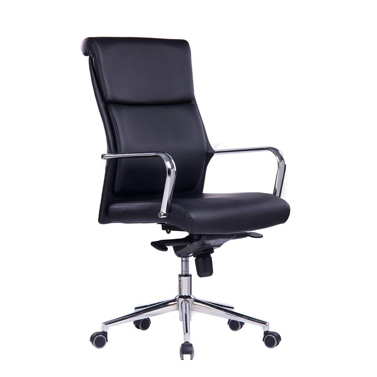 Office Armchair DORTMUND, High, Similpiel Black