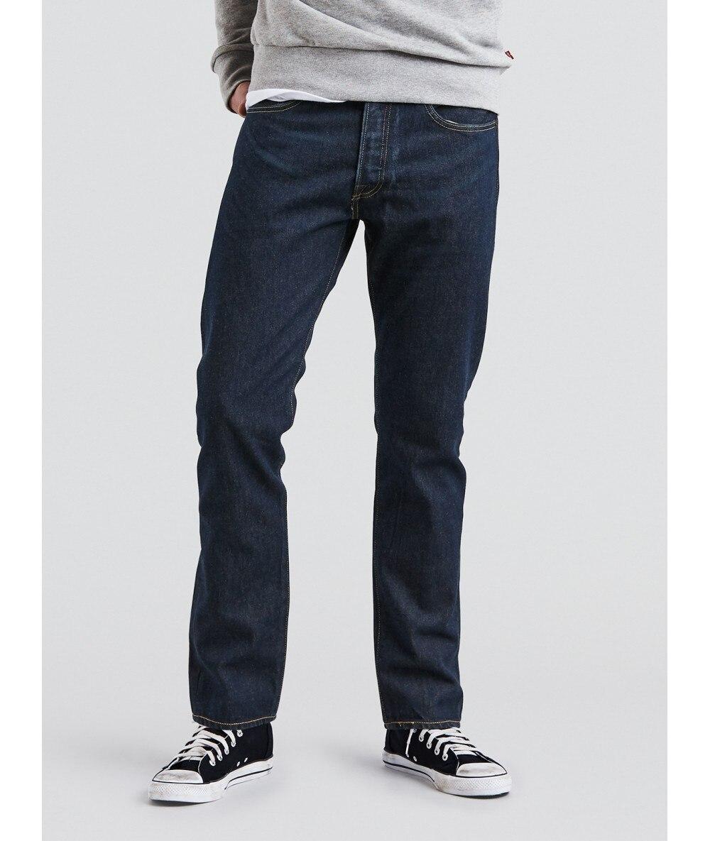 COWBOY LEVI'S 501®SLIM TAPER Long Ladies Jeans Dark For Men BRANDED Menswear In Jeans 2020