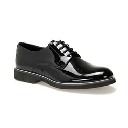 FLO ERG-965 Schwarze Männer Klassische Schuhe JJ-Stiller