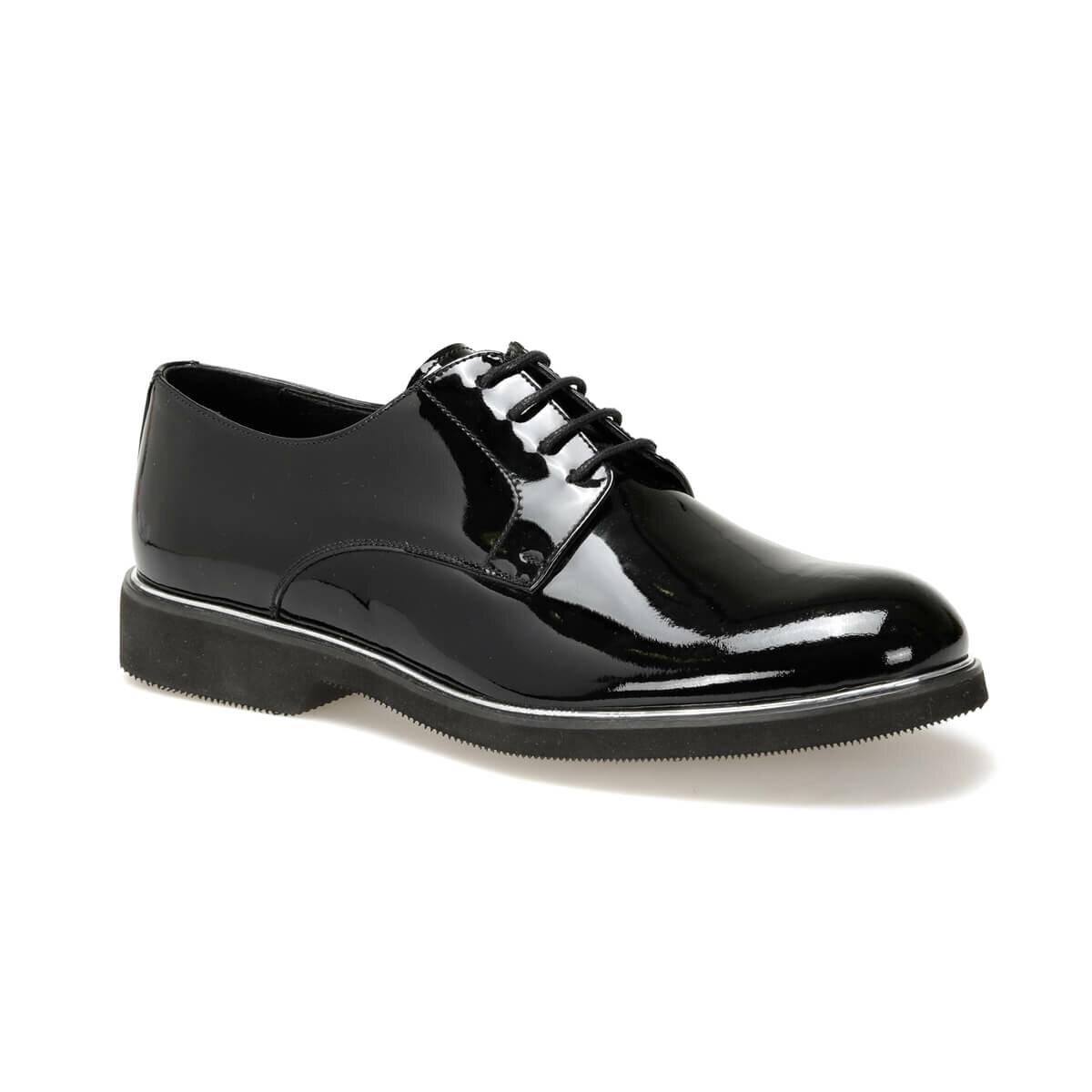 Flo Erg-965 Zwarte Mannen Klassieke Schoenen Jj-Stiller