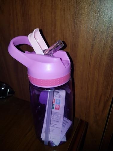450ml Kids Water Bottle With Straw BPA Free Children Water Drinking Kettle Healthy Plastic Portable Sports Bottle|Water Bottles|   - AliExpress