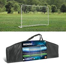 Mondo-metal football goal, with bag, 180x120x60 cm (18303)