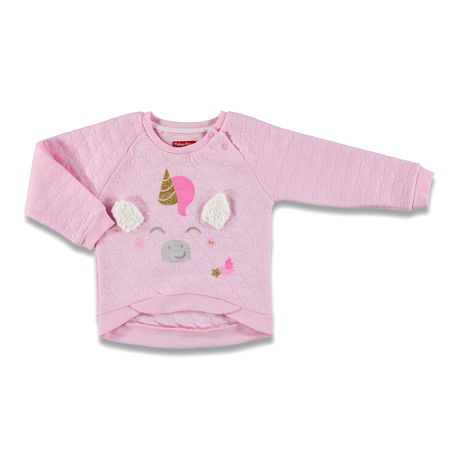 Ebebek Fisher Price Magical Unicorn Baby Sweatshirt