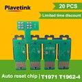 Plavetink 20PCS T1971 T1962-T1964 CISS Risistemazione del Circuito Integrato Combo Per Epson XP201 XP211 XP204 XP401 XP411 XP214 XP101 WF-2532 Stampante