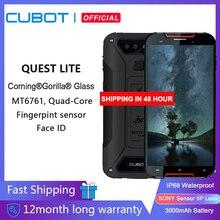 "Cubot Quest Liteกีฬาโทรศัพท์IP68 MT6761 5.0 ""3GB + 32GB 3000MAh Android 9.0พาย4G LTE Dualกล้อง13MP Type C Face ID"