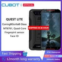 CUBOT Quest Lite 4G IP68 Móvil Todorerreno para Viajes IP68 Deporte Smartphone Impermeable MT6761 5,0