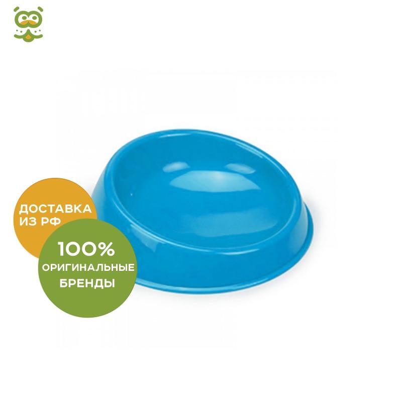 Bowl Beeztees (I. P. T. S.) plastic for cats, 15 cm., Sky Blue цена