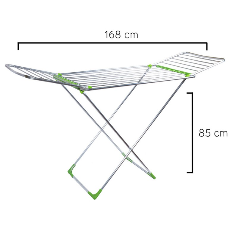 Clothesline Oryx Aluminum Folding With Wings