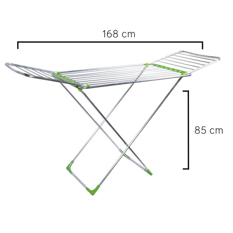 Tendedero Oryx Plegable Aluminio Con Alas