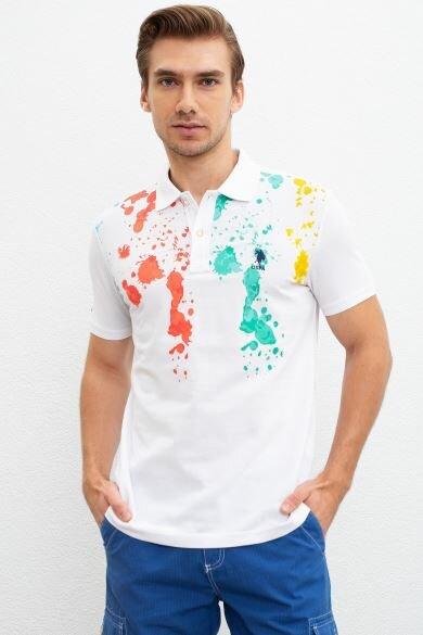 U.S. POLO ASSN. Polo Neck Regular T-Shirt