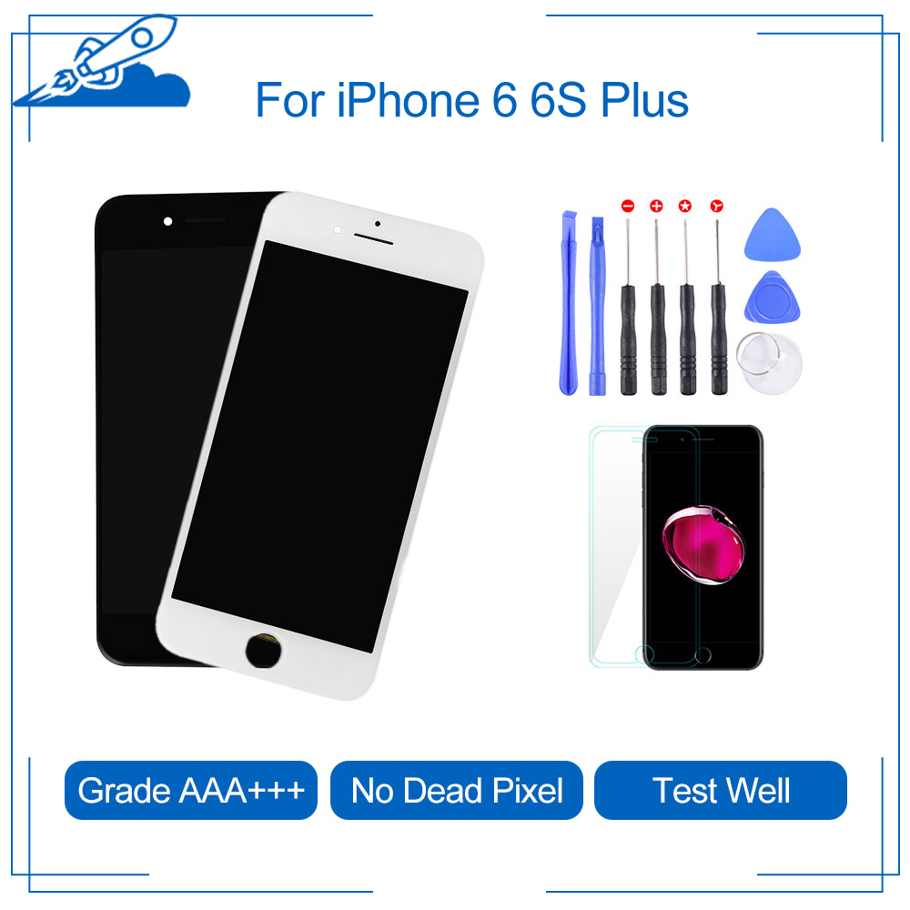 Elekworld Grade For iPhone 6 6S Plus LCD Touch Digitizer Screen Assembly Replacement For iphone 5S Display Screens image