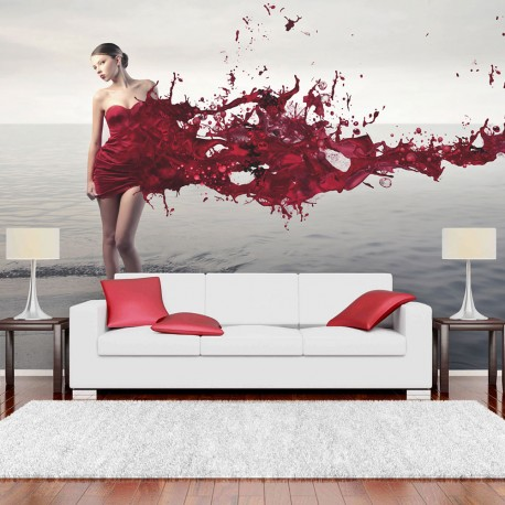 Photo Wallpaper-Network Beauty