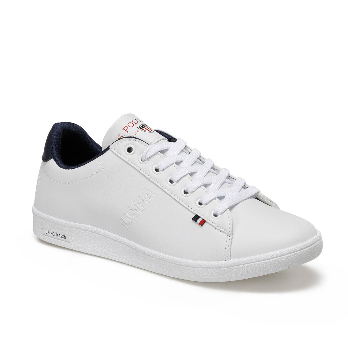 FLO White Men Sneaker Shoes 2020 New Casual Shoes Men Flat Shoes Lace-up Low Top Sneakers Tenis Masculino U.S. POLO ASSN. FRANCO