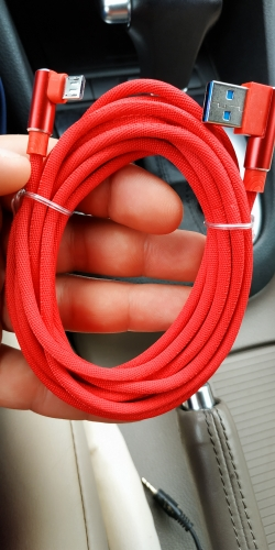 Micro USB Cable 3A Fast Charger USB Cord Suntaiho 90 degree elbow Nylon Braided Data Cable for Samsung/Sony/Xiaomi Android Phone-in Mobile Phone Cables from Cellphones & Telecommunications on AliExpress
