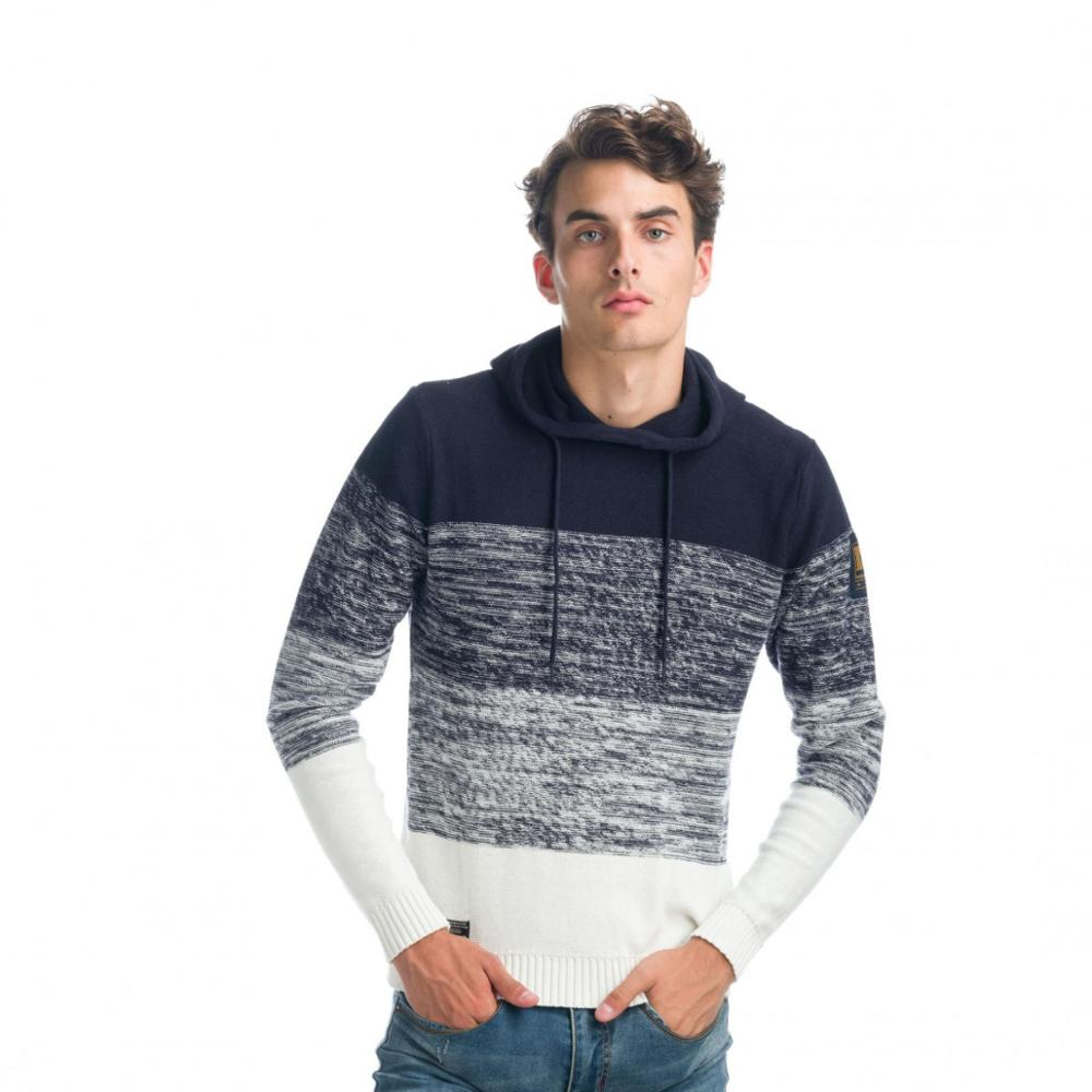 KOROSHI JERSEY KNIT AND HEATHER EFFECT MAN