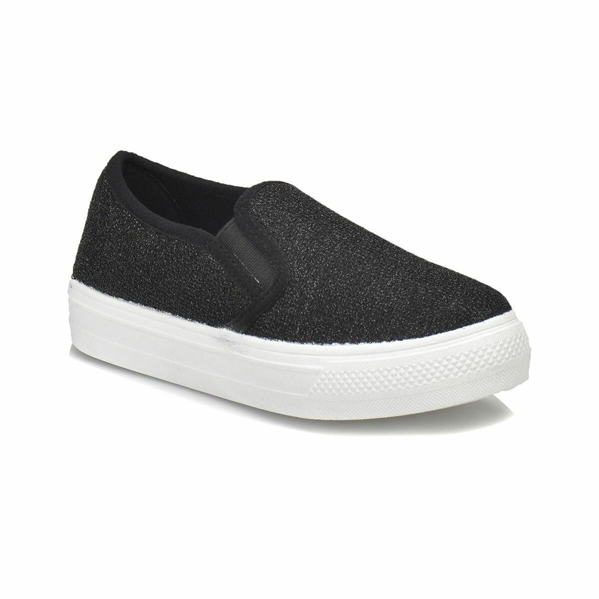FLO ROSA Black Male Child Slip On Shoes KINETIX