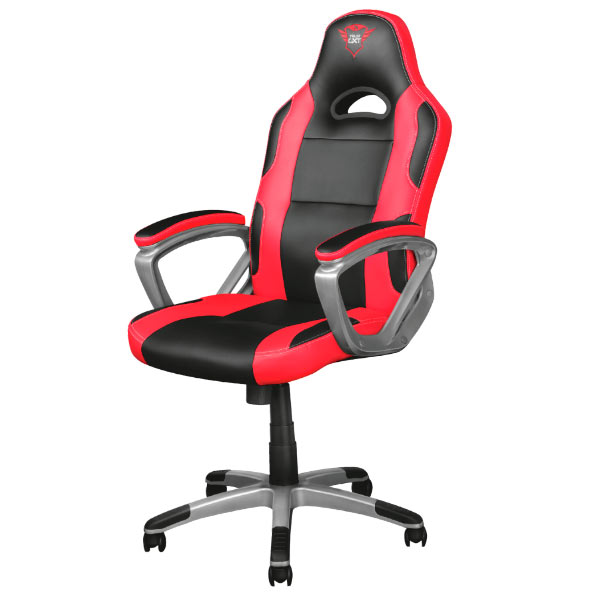 Chair Trust Gaming GXT 705 Ryon Rotating 360 ° Lift Gas Class 4 Up Seat Recliner With Lock Black Color /Roj