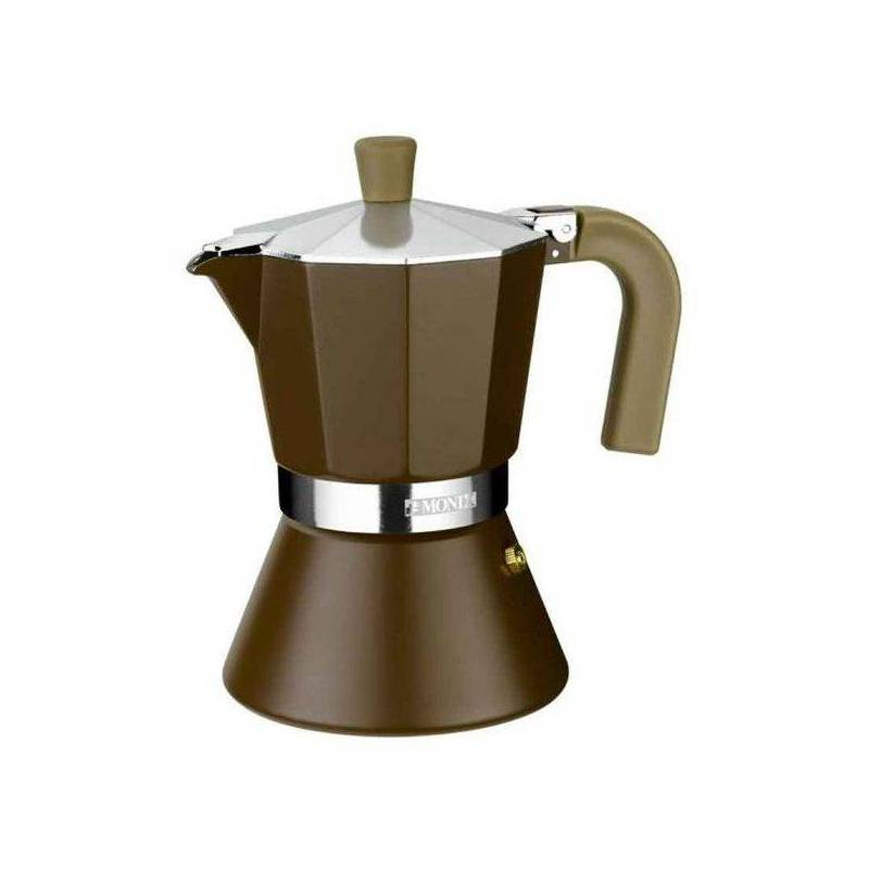 Italian Coffee Maker Monix M670006 (6 Cups) Aluminum