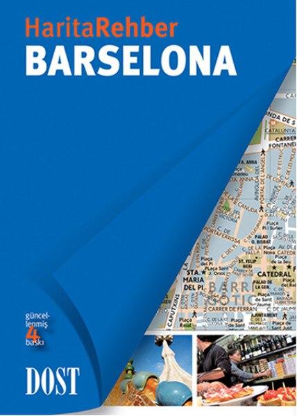 Barcelona-Map Guide Carole Saturno Friendly Bookstore (TURKISH)