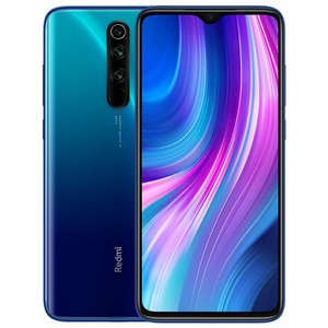 Phone Xiaomi Redmi Note 8 Pro, Blue Color (Blue), 64 GB of Internal Memory 6 GB RAM, Dual SIM, Global Version.