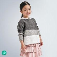 4348 Jersey tricolor niña MAYORAL