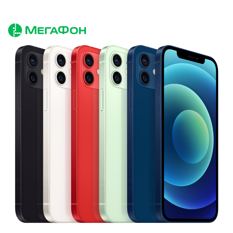 Smartphone Apple iPhone 12 64GB [rostest, new, Sim of any operators, official warranty]|Cellphones| - AliExpress