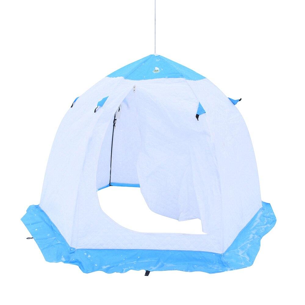Tente 2019 voyage hiver pêche loisirs parapluie chaud automatique tout pour hiver pêche 2-3 personne 2*2 160 cm