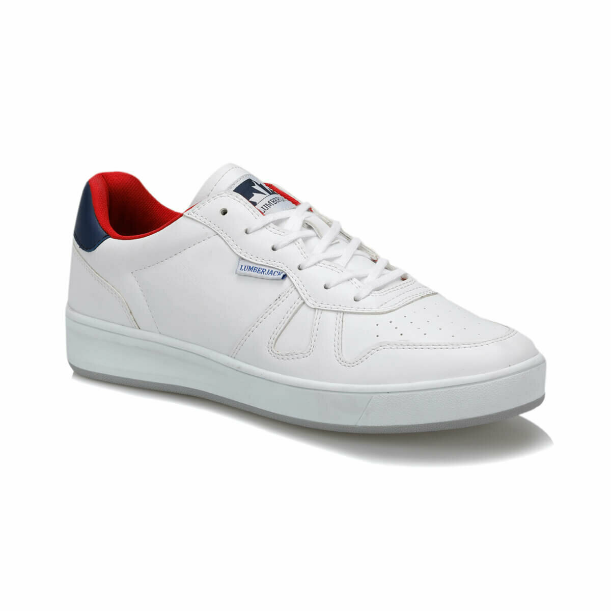 FLO HARBOUR White Men 'S Sneaker Shoes LUMBERJACK
