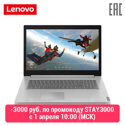 Laptop Lenovo Ideapad L340-17API R7-3700U 17 Hd +/4/128 Gb + 1 Tb/Geïntegreerde/Dos (81LY001VRK) grijs