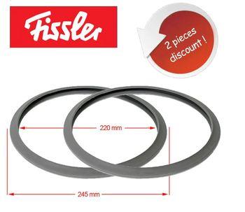Szybkowar pierścień uszczelniający 2 sztuki zamiennik dla Fissler Vitavit uszczelnienie parowe 2062600201 tanie i dobre opinie NO (pochodzenie) Części do parowaru