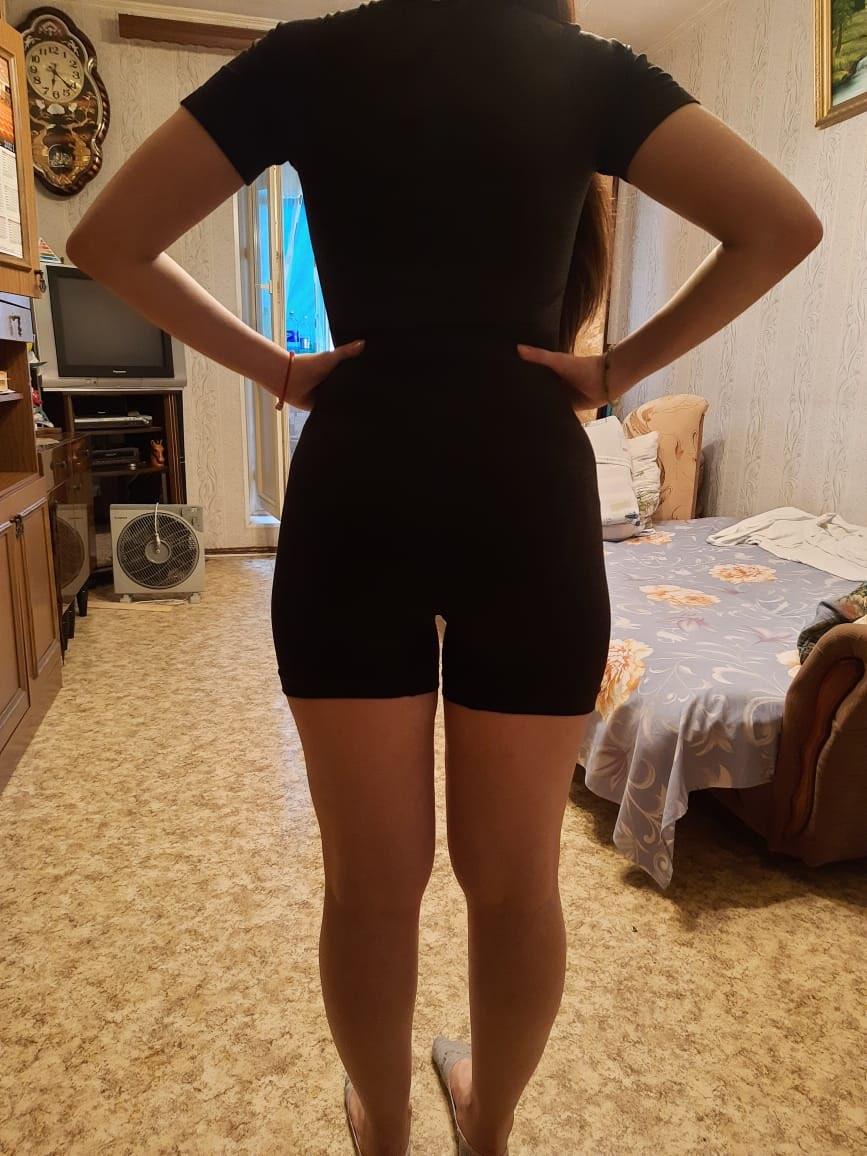 Women's Plain Yoga Set photo review