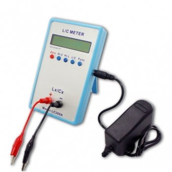 LC200A capacity Poke and inductance digital Capacimeter inductometer portable digital LCR