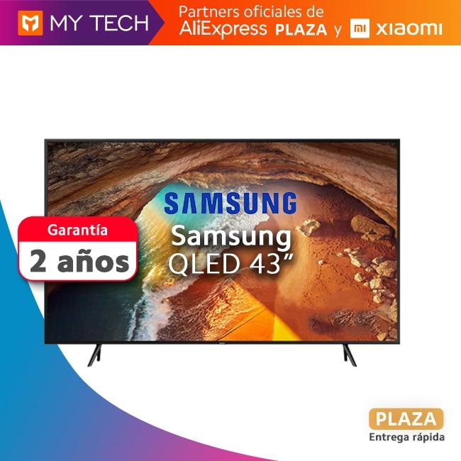 """Televisor QLED Samsung Q60R, 43"""", 55"""" y 65"""", Smart TV original, nuevo, Aliexpress Plaza,  envío desde España,"""