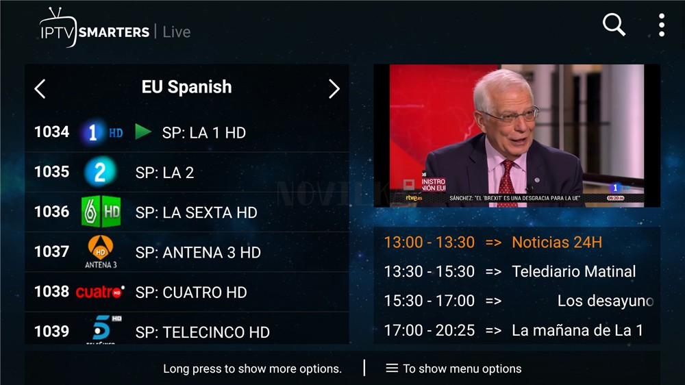 Portugal Brasilien Spanien iptv abonnement m3u iptv Frankreich Deutschland Italien Für Android tv Box m3u Smart TV PC 8000 + live-IPTV